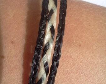 HORSE HAIR bracelet -3 line
