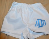 Little boy's Cotton Boxers, monogrammed to order
