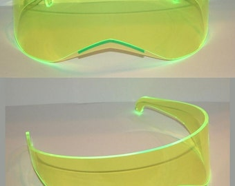 Anime Cosplay Visor Glasses.