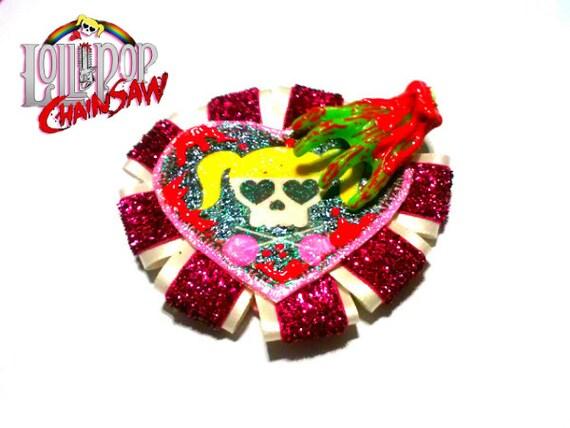 Lollipop Chainsaw Zombie Attack Hair Clip