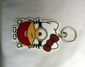Minion x Hello Kitty Keychain