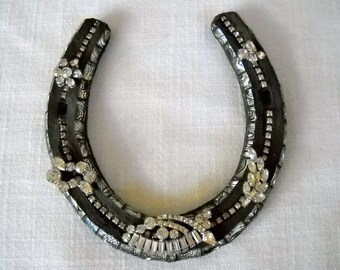 Bling A Ling Mosaic Horse Shoe