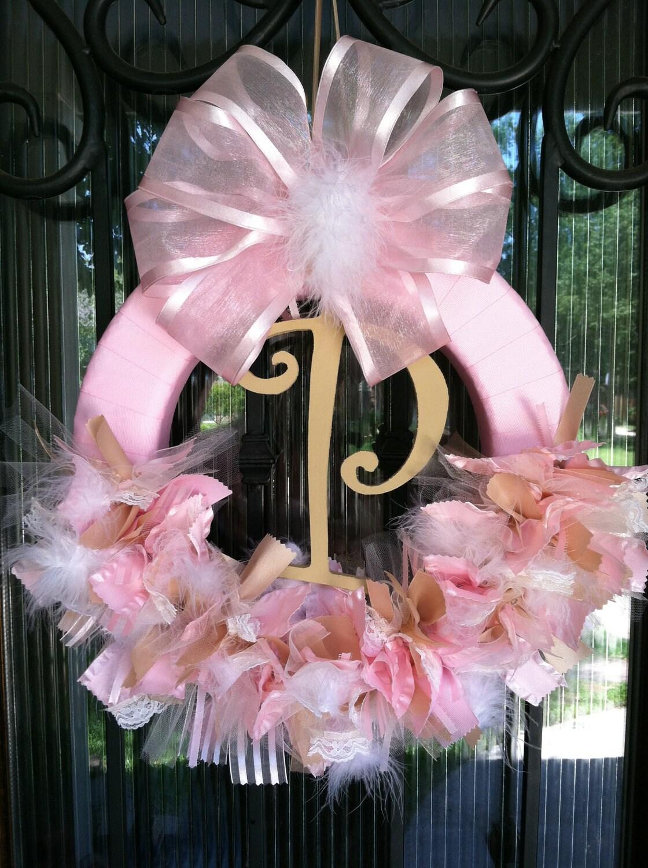 Initial Baby Door Hanger