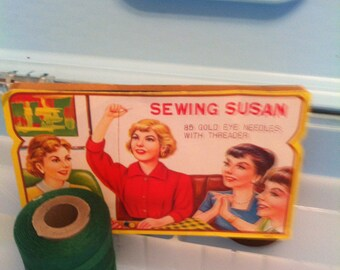 Sewing Susan Needle Card