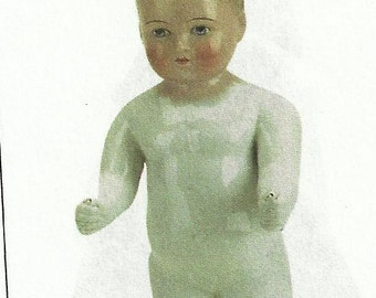 1880 Frozen Charlotte German doll.