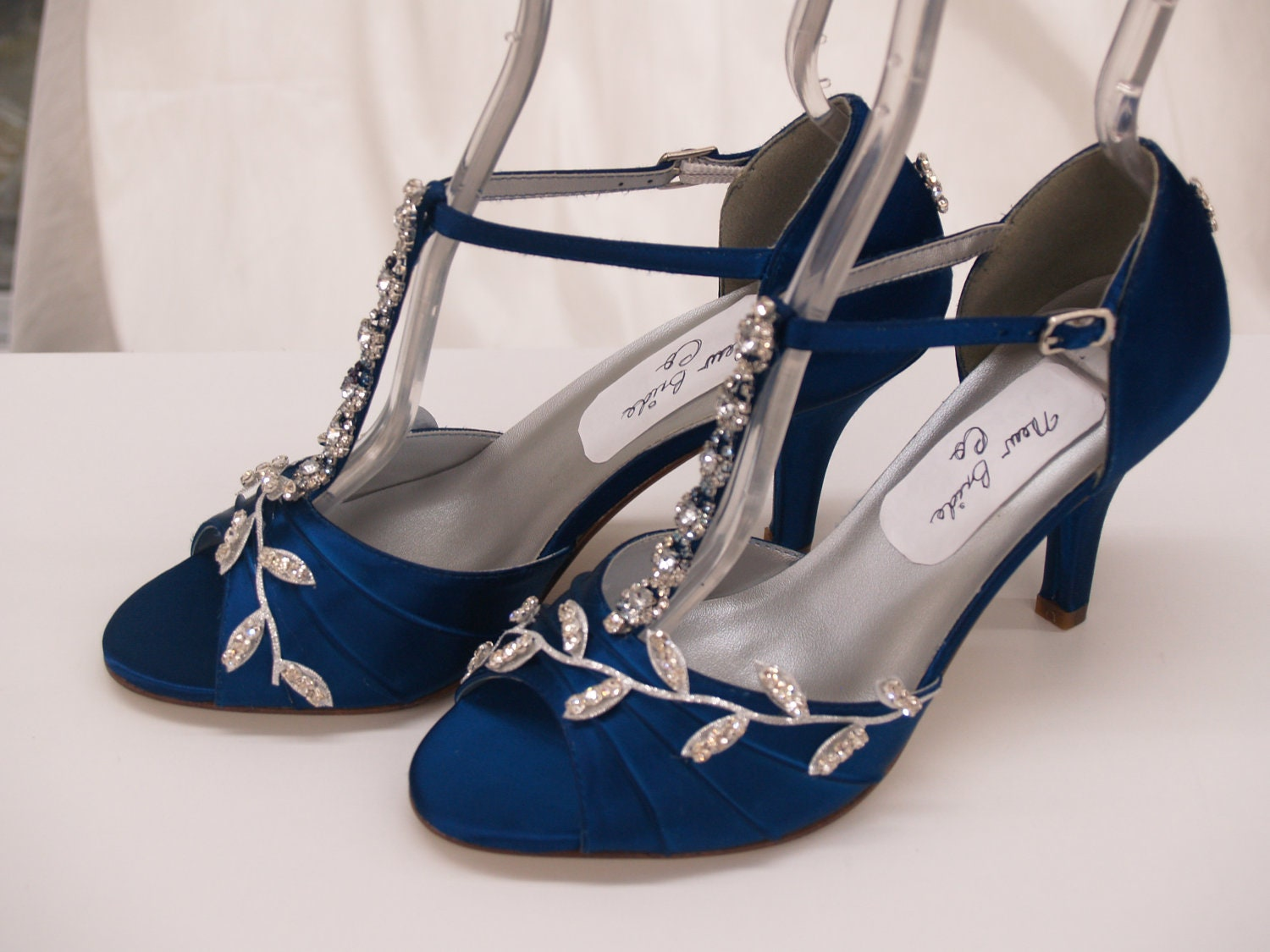 Royal Blue Bridal Shoes Blue Wedding Shoes Royal-blue
