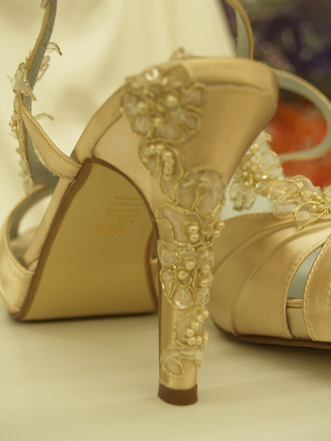 Yellow Gold Wedding Shoes Wedding Shoes Gold Champagne