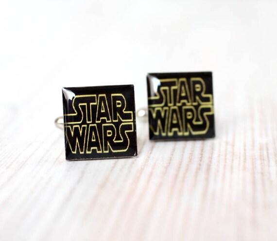 STAR WARS Cufflinks - Men cufflinks - Custom cuff links