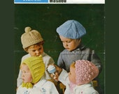 PDF of a Vintage Knit Pattern B001 Toppers for Tinies from WonkyZebraBaby