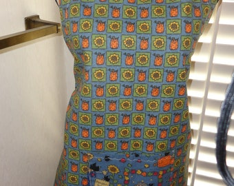 APRON, FULL, adjustable, reversible, FALL