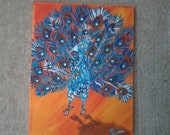 Original Peacock Painting
