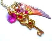 Chibiusa's Time Key Necklace Pegasus Edition
