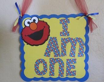 Elmo Door Hanger
