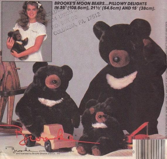 Teddy Bear Pattern McCalls 8865 Uncut