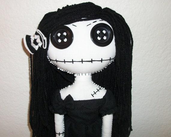 Baby Gothic Rag Doll