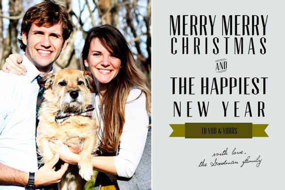 Custom Christmas Photo Card