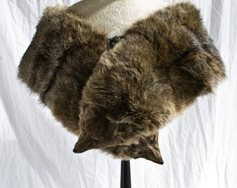 Vintage Genuine Fox  Fur Stole, B Altman and Co