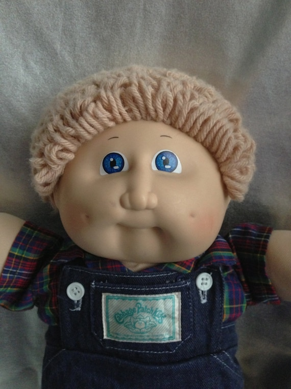 Items Similar To Vintage Cabbage Patch Kid Boy Ash Blond