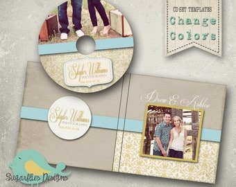 CD/DVD Label and Cover Templates - DVD Case & Label Rich