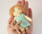 Little Mini Felt Dolls Matchbox Cuties  PDF Digital Pattern