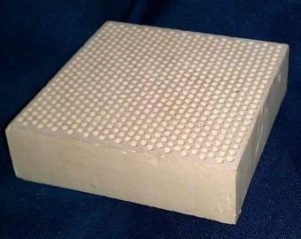 Ceramic Honeycomb Solder Block 3 x 3 inch x 20 mm