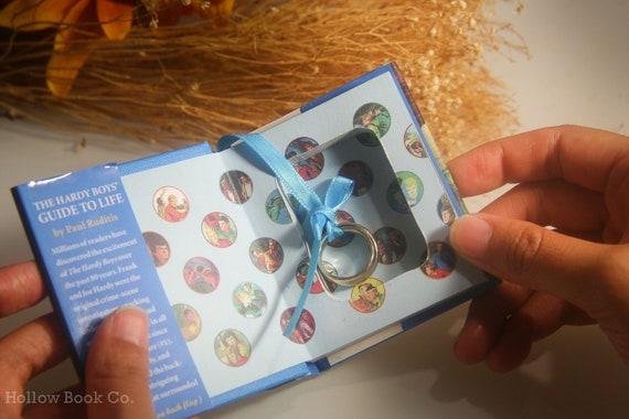 Mini Hollow Book Safe - Hardy Boys: The Guide to Life