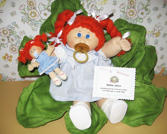 Cabbage Patch Kid w/ Pinup