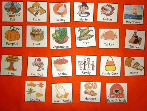 Sight Word Thanksgiving Fall / Thanksgiving Sight