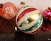 A Shabby Chic Christmas Vintage Christmas Ornaments Shiny Brite