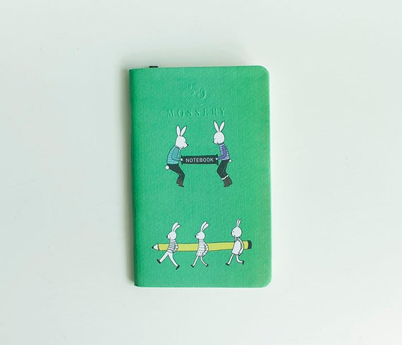 Bunny And Friends Mossery Pocket Notebook