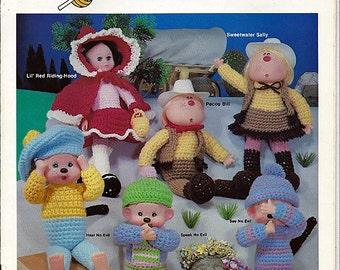 Adventures in Crochet Doll Pattern Book 019-93