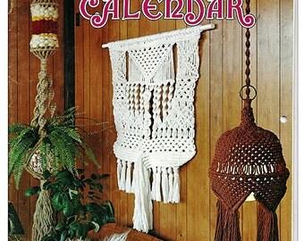 The 1977 Macrame Craft Calendar Pattern Book
