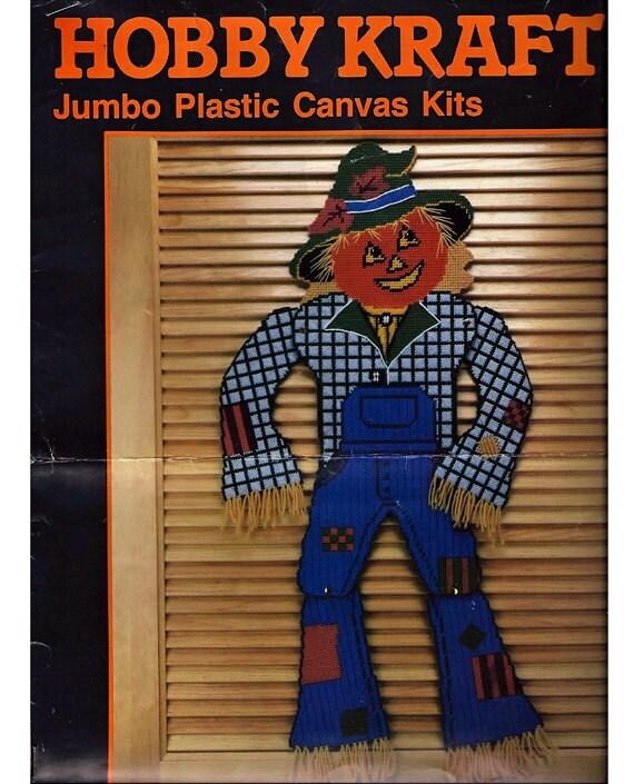 Scare Crow -  Plastic Canvas Pattern  Hobby Kraft No. 4544