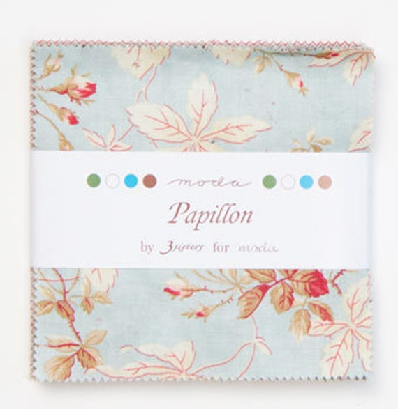 Charm pack  - Papillon by 3 Sisters for Moda