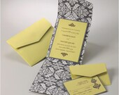 Wedding Invitations -  Madeline Collection