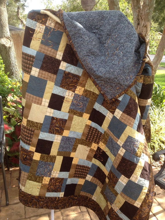 Quilt Patterns For A Man : A Manly Quilt for your Man