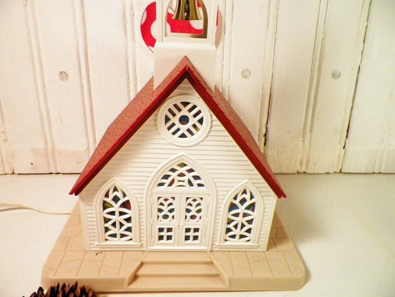 Alpine church christmas decor lighting 1960s by for Alpine decoration