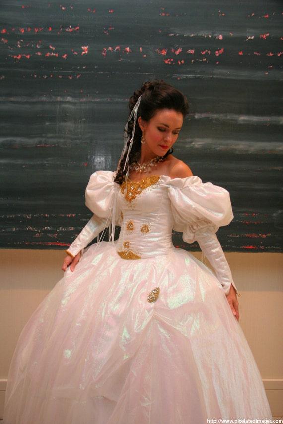 Items similar to Labyrinth Costume: Sarah's Ballgown ... Labyrinth Movie Sarah Dress