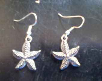 starfish earrings FREE shipping