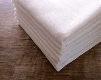 Organic Cotton Birdseye Dishcloth Birdseye Two Ply  Eco Friendly -- Choose your Quantity and Thread Edge