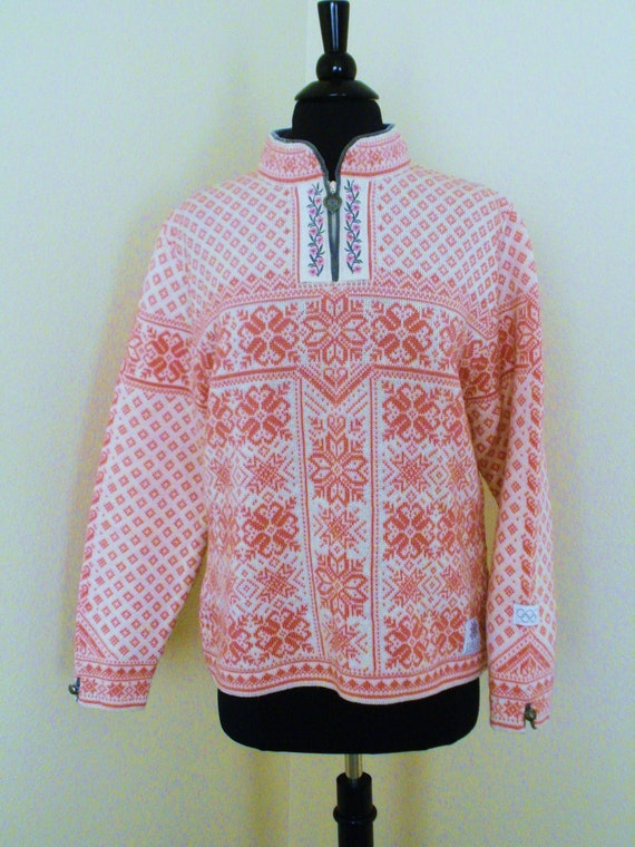 Wool Sweater Dale of Norway Olympic Edition