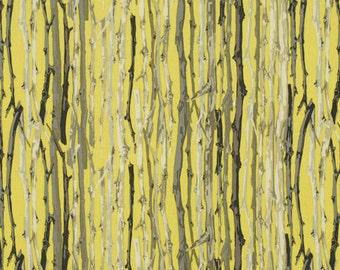 Martha Negley - Classics - Twigs Lemon  -  1/2 yard cotton quilt fabric 315