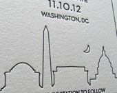 Washington DC Save the Dates