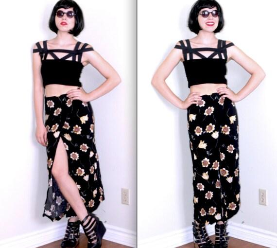 Sunflower Wrap Skirt