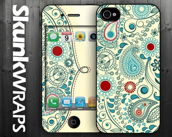 iPhone 4 Case  - Vintage Paisley - iPhone 4 Case,  iPhone Case, iPhone 4s Case, Cases for iPhone 4, Hard iPhone 4 Case