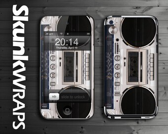 Apple iPod Touch 1, iPod Touch 2, iPod Touch 3, iPod Touch 4, iPod Touch 5 Decal Skin Cover - Boombox