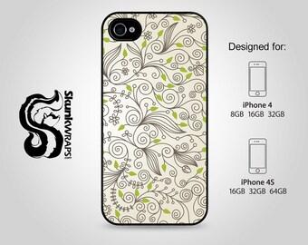 Apple iPhone 4 4S Slim Hard Case  -  Foliage