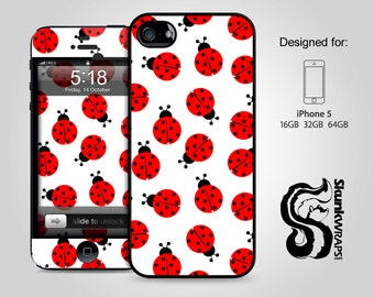iPhone 5 Case, iPhone 5s Case, iPhone 5c Case  - Ladybugs -  iPhone Case, iPhone 5G Case, Cases for iPhone 5, Hard iPhone 5 Case