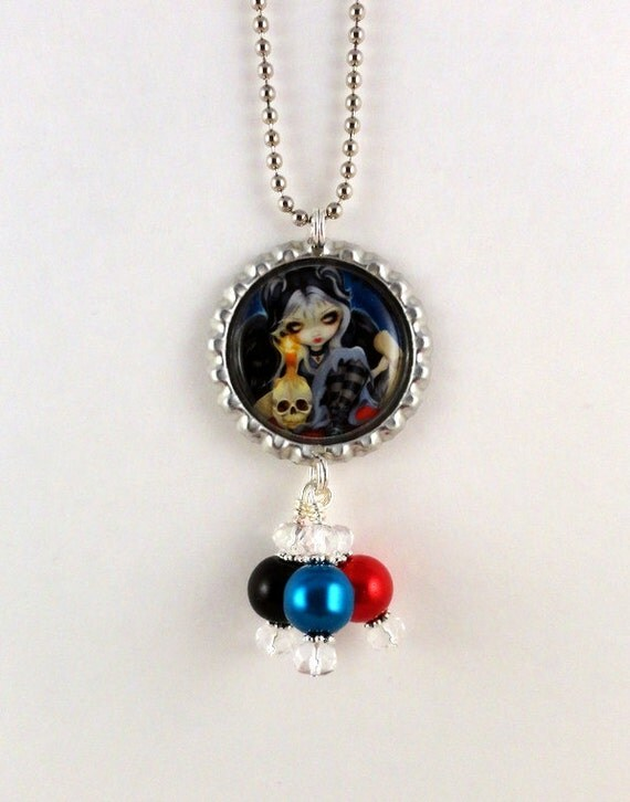 """Jasmine Becket-Griffith  """"  Sign of Our Parting """"  Necklace"""