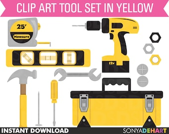 80% OFF Sale Clipart Tools, Clip Art Tool Set, Clipart Hammer, Boy Clip Art, Clip Art Toolbox, Clip Art Tools, Clipart, Clip Art